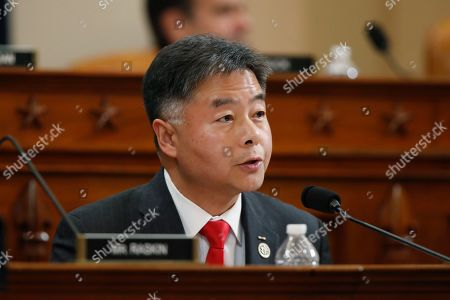 Rep. Ted Lieu, D-Calif., talks during a hearing before the House Judiciary Committee on the constitutional grounds for the impeachment of President Donald Trump, on Capitol Hill in Washington
