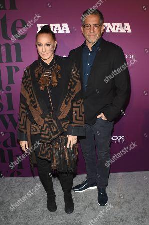 Donna Karan and Kenneth Cole