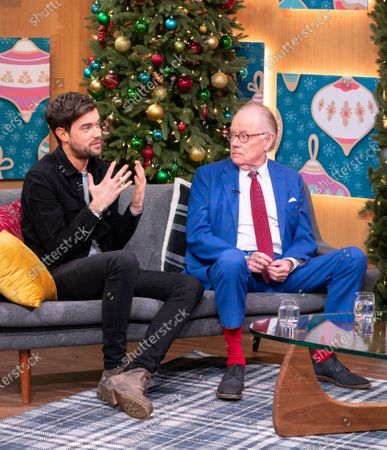 Stock Photo of Jack Whitehall and Michael Whitehall