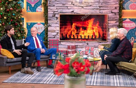 Editorial image of 'This Morning' TV show, London, UK - 04 Dec 2019