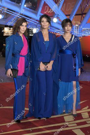 Lubna Azabal, Maryam Touzani and Nisrin Erradi