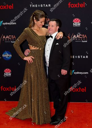 Stock Photo of Michelle Payne and Stevie Payne