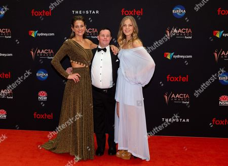 Stock Picture of Michelle Payne, Stevie Payne and Sophia Forrest