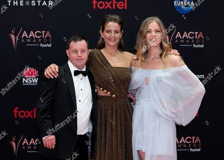 Stevie Payne, Michelle Payne and Sophia Forrest