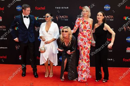 Bernard Curry, Rarriwuy Hick, Tammy MacIntosh, Kate Jenkinson and Kate Atkinson