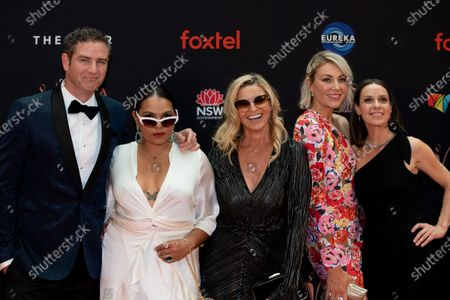 Bernard Curry, Rarriwuy Hick, Tammy MacIntosh, Kate Jenkinson and Kate Atkinsson