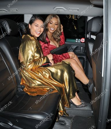 Stock Photo of Vanessa White and Munroe Bergdorf