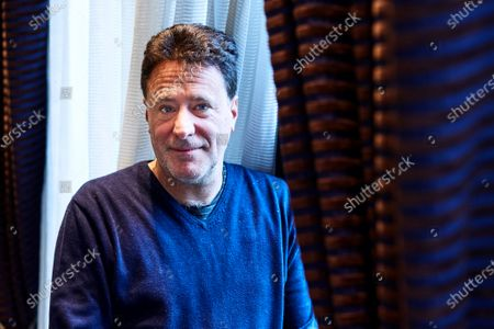 Stock Photo of French film maker Philippe de Chauveron poses for the media during the premiere of his the 'Qu'est-ce qu'on a fait au Bon Dieu?' (lit. What Have We Done To God? ... Now) in Barcelona, Catalonia, Spain, 04 December 2019.