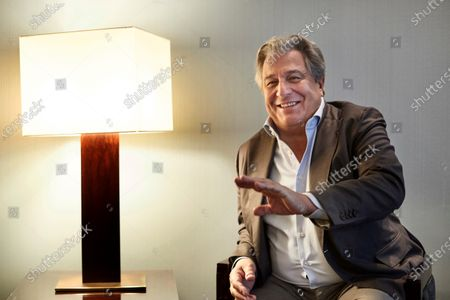 Stock Photo of Christian Clavier poses for the media during the premiere of his the 'Qu'est-ce qu'on a fait au Bon Dieu?' (lit. What Have We Done To God? ... Now) in Barcelona, Catalonia, Spain, 04 December 2019.