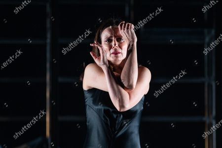 Aitana Sanchez Gijon performs during a rehearsal of the play 'Juana' (lit. Joan) at Espanol Theater in Madrid, Spain, 04 December 2019. The play represents the stories of Joan of Arch, Sister Joan Agnes of the Cross, Pope Joan, and Johanna the Mad through the texts written by Juan Carlos Rubio, Marina Seresesky and Clarice Lispector. The play will be premiered next 20 December 2019.