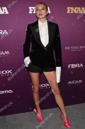 Editorial image of 33rd Annual Footwear News Achievement Awards, Arrivals, New York, USA - 03 Dec 2019