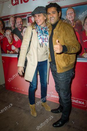 Stock Image of Melissa Theuriau and Jamel Debbouze
