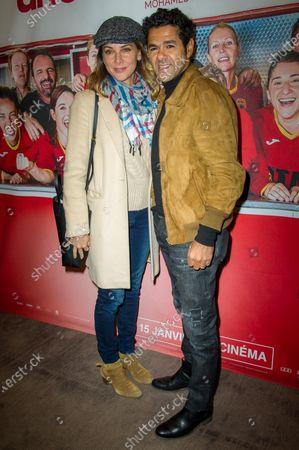 Melissa Theuriau and Jamel Debbouze