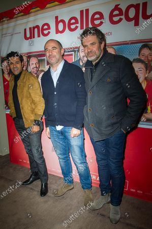 Stock Picture of Jamel Debbouze, Mohamed Hamidi and Herve Mathoux