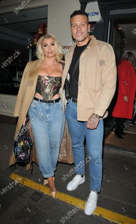 Stock Picture of Olivia Buckland and Alex Bowen