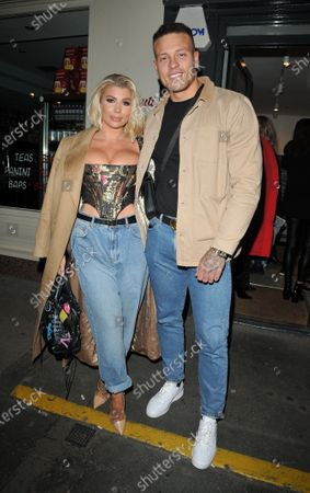 Stock Photo of Olivia Buckland and Alex Bowen