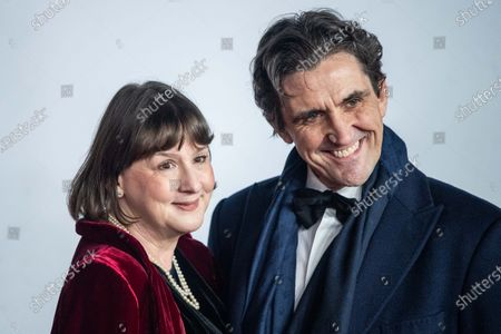 Heidi Thomas and Stephen McGann