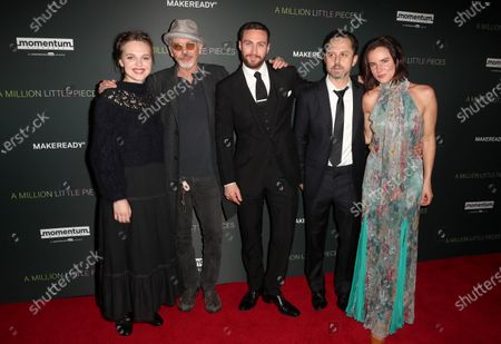 Odessa Young, Billy Bob Thornton, Aaron Taylor-Johnson, Giovanni Ribisi and Juliette Lewis