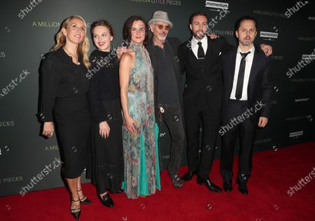 Samantha Taylor-Johnson, Odessa Young, Billy Bob Thornton, Aaron Taylor-Johnson, Giovanni Ribisi and Juliette Lewis