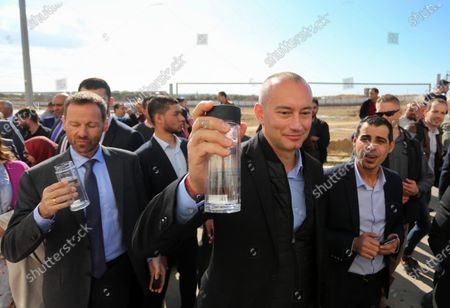 Editorial picture of Nikolay Mladenov opens the 2nd and 3rd phase of the desalination plant, Gaza Strip, Palestine - 04 Dec 2019