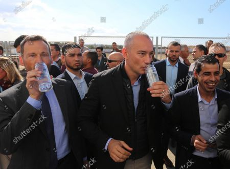 Editorial image of Nikolay Mladenov opens the 2nd and 3rd phase of the desalination plant, Gaza Strip, Palestine - 04 Dec 2019