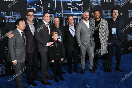 Stock Image of Masi Oka, Michael J. Travers, Nick Bruno, Troy Quane, Will Smith and guests