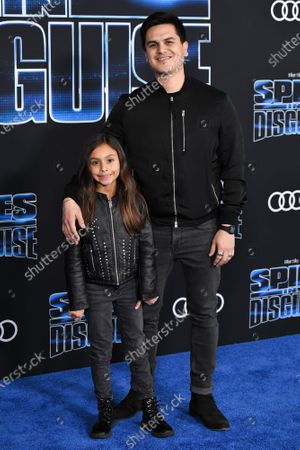 Editorial photo of 'Spies in Disguise' film premiere, Arrivals, El Capitan Theatre, Los Angeles, USA - 04 Dec 2019