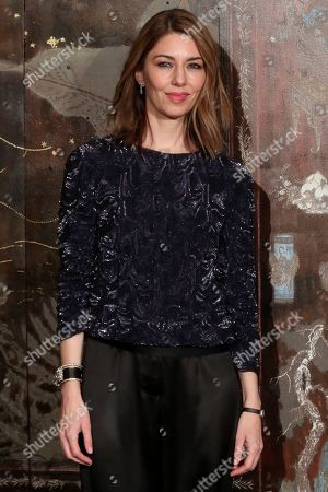 American director Sofia Coppola poses during a photocall before the presentation of Chanel's Metiers d'Art collection, Wednesday, Dec.4, 2019 at the Grand Palais in Paris
