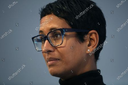 Stock Picture of Naga Munchetty chaired a panel at the Brexit and British voters conference, The UK in a Changing Europe