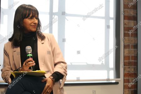Ranvir Singh, Political Editor of Good Morning Britain, ITV. She chaired a panel, The UK in a Changing Europe