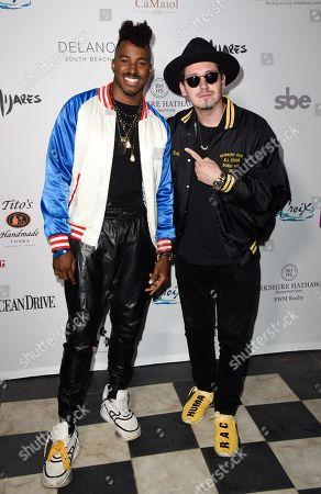 DJ Ruckus and Chris Cab