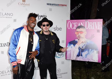 Stock Picture of DJ Ruckus and Chris Cab