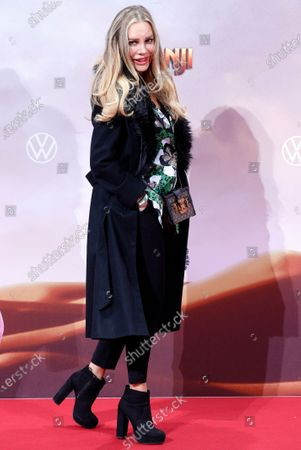 Stock Photo of Xenia Seeberg poses for pictures at the German premiere of 'Jumanji: Next Level' in Berlin, Germany, 04 December 2019. The movie will be released in Germany on 12 December 2019.