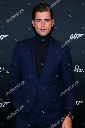 Editorial picture of Worldwide debut of the new OMEGA James Bond watch, New York, USA - 04 Dec 2019