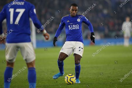 Ricardo Pereira (21) of Leicester City during the Premier League match between Leicester City and Watford at the King Power Stadium, Leicester