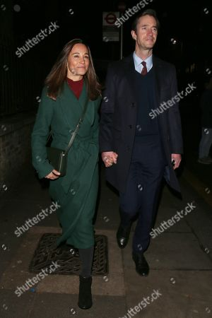 Stock Picture of Pippa Middleton and James Matthews