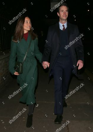 Stock Photo of Pippa Middleton and James Matthews