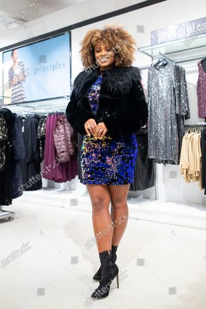 Fleur East, star of this year's Debenhams Christmas campaign