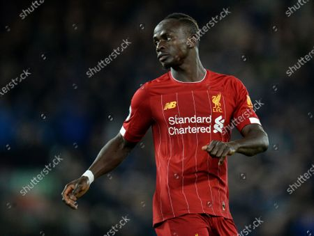 Sadio Mane of Liverpool in action during the English Premier League soccer match between Liverpool FC and Everton in Liverpool, Britain, 04 December 2019.