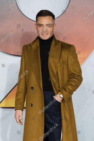 Ed Westwick attends the world premiere of '1917' in London, Britain, 04 December 2019. The film is scheduled to be released in British theaters on 10 January 2020.