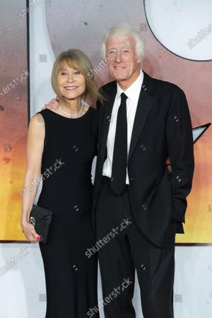 British cinematographer Roger Deakins (R) and his wife Isabella James Purefoy Ellis (L) attend the world premiere of '1917' in London, Britain, 04 December 2019. The film is scheduled to be released in British theaters on 10 January 2020.
