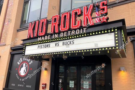 "Stock Picture of This photo, shows the entrance to Kid Rock's Made In Detroit restaurant in Detroit. The owners of the Detroit sports arena the restaurant said Wednesday, Dec. 4, 2019, that the musician, who recently was filmed delivering a vulgarity-laced rant against Oprah Winfrey, won't renew his licensing agreement for the eatery. An Ilitch Holdings official said Kid Rock ""voluntarily decided"" not to renew the deal coming up in April inside Little Caesars Arena"