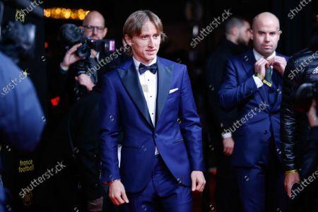 Editorial picture of Ballon d'Or awards, Theatre du Chatelet, Paris, France - 02 Dec 2019