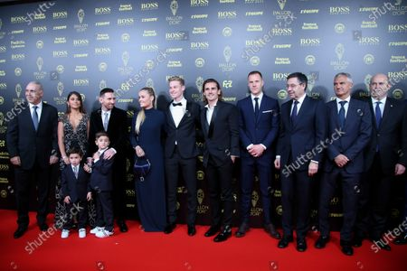 Editorial photo of Ballon d'Or awards, Theatre du Chatelet, Paris, France - 02 Dec 2019