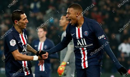Editorial photo of Paris Saint-Germain vs FC Nantes, France - 04 Dec 2019