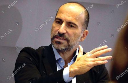 Uber CEO Dara Khosrowshahi speaks