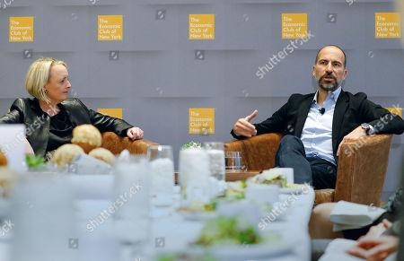 Stock Image of Uber CEO Dara Khosrowshahi