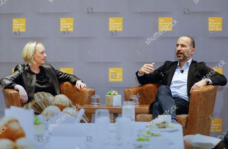 Stock Photo of Uber CEO Dara Khosrowshahi