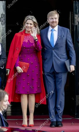 Queen Maxima and King Willem-Alexander