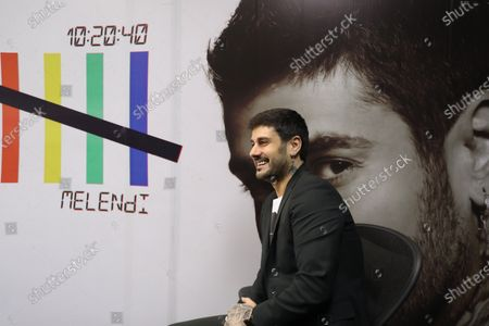 Melendi during an interview with Efe in Mexico city, Mexico, 04 December 2019.